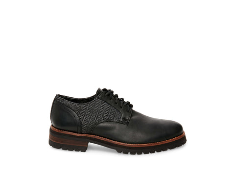 SCOTTO BLACK LEATHER