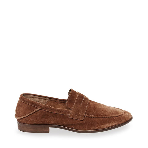 SLICED TAN SUEDE