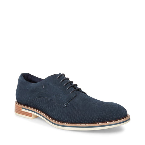 STAMP NAVY SUEDE