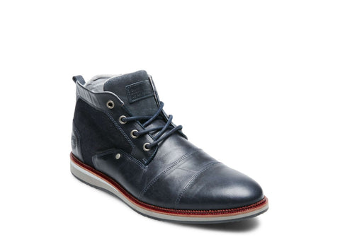 STEEL NAVY LEATHER - Steve Madden
