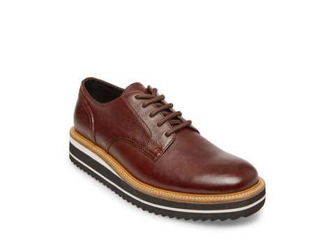 SUFRAGET BROWN LEATHER - Steve Madden