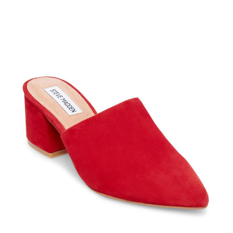 SUPERIOR RED SUEDE - Steve Madden