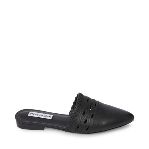 TIMMY BLACK LEATHER - Steve Madden