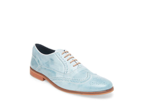 ANISE BABY BLUE LEATHER - Steve Madden