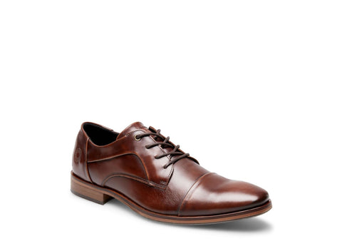 AQUA BROWN LEATHER - Steve Madden