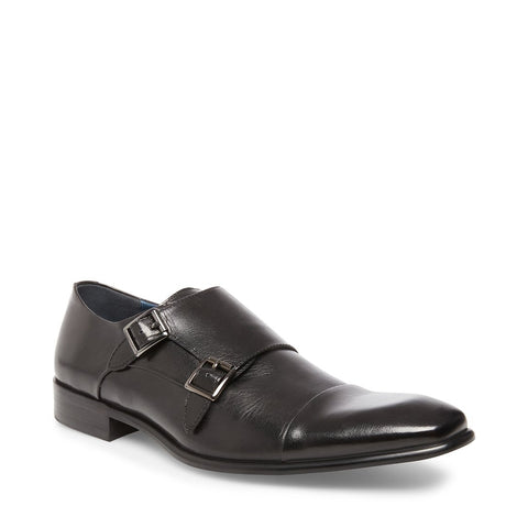 BOWEN BLACK LEATHER - Steve Madden