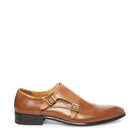 BOWEN COGNAC LEATHER - Steve Madden
