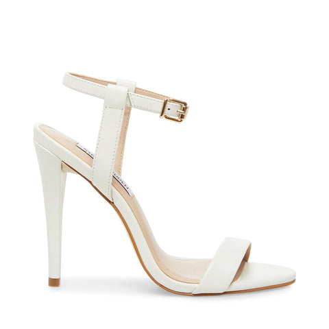 CARMELINA WHITE LEATHER