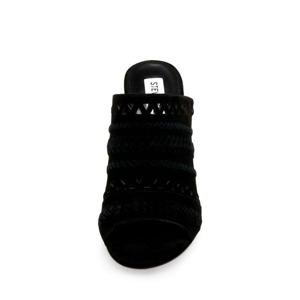 CAROLINA BLACK SUEDE - Steve Madden