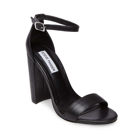 CARRSON BLACK LEATHER - Steve Madden
