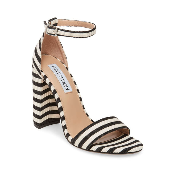 CARRSON BLACK-WHITE - Steve Madden