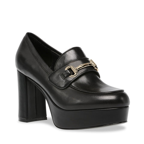 CINDERELLA BLACK LEATHER