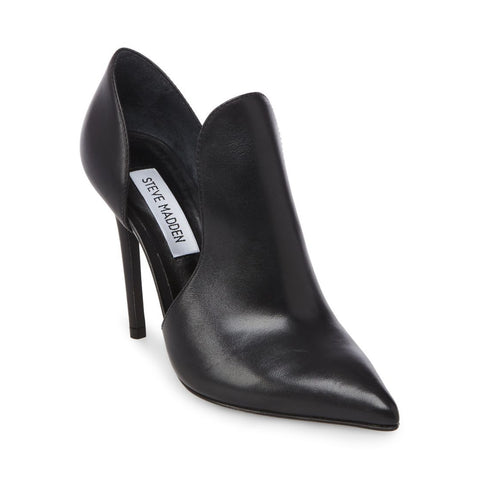 DOLLY BLACK LEATHER - Steve Madden