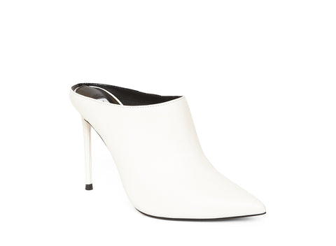 DONALDA WHITE LEATHER