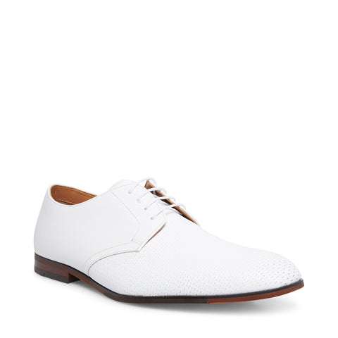 EDGLEY WHITE LEATHER