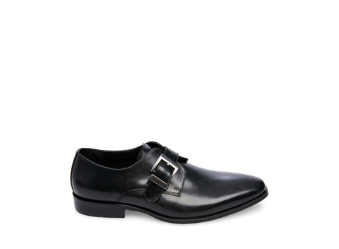 EMMETT BLACK LEATHER - Steve Madden