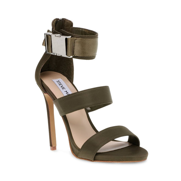 9a4a670f2be OLIVE GREEN HEELS