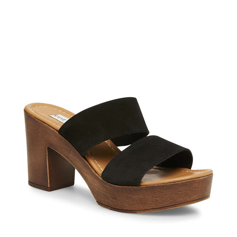 FRANCESCA BLACK SUEDE