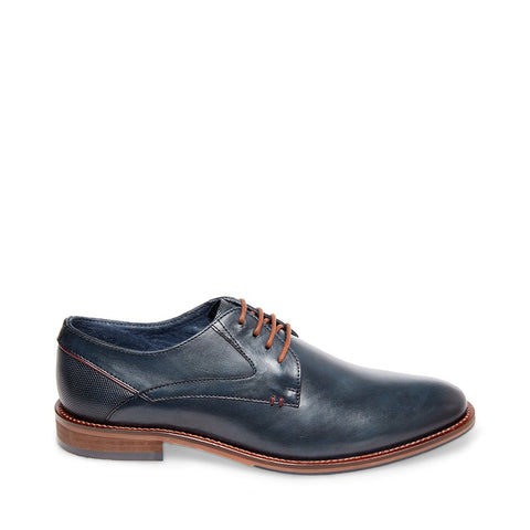 GEARY NAVY LEATHER