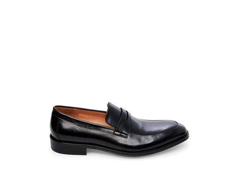 HOFFMAN BLACK LEATHER - Steve Madden