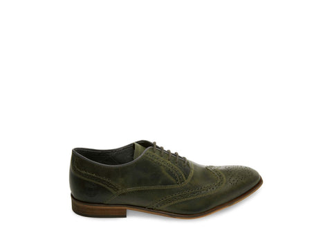 IGGY OLIVE LEATHER