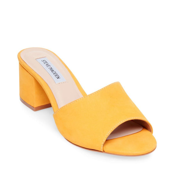 INSIST YELLOW NUBUCK - Steve Madden
