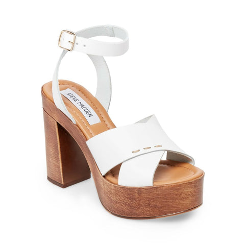 LILIANA WHITE LEATHER - Steve Madden