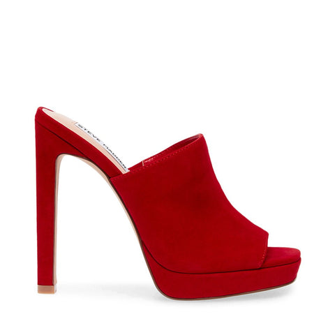LURE RED SUEDE
