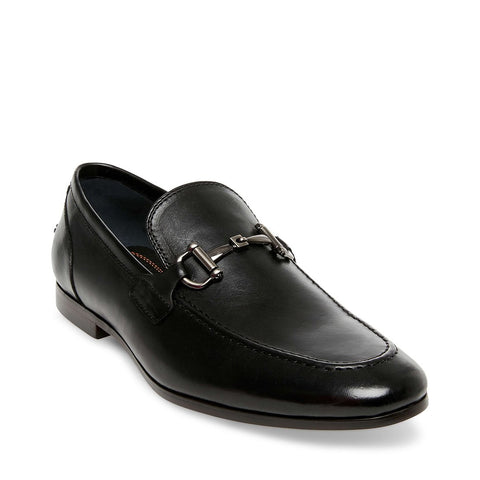 LYONS BLACK LEATHER