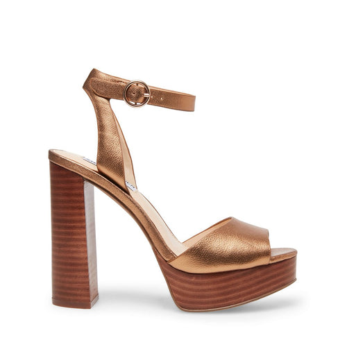 MADELINE BRONZE LEATHER - Steve Madden