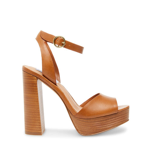 MADELINE COGNAC LEATHER - Steve Madden