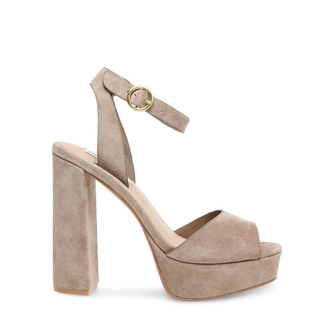 MADELINE TAUPE SUEDE