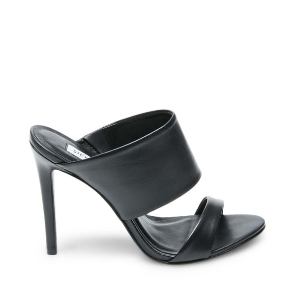 MALLORY BLACK LEATHER - Steve Madden