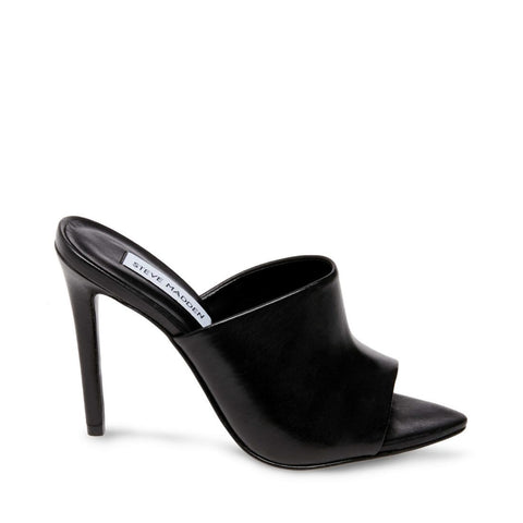 MERYL BLACK LEATHER - Steve Madden