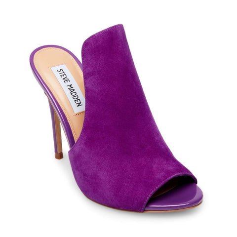 SINFUL PURPLE SUEDE