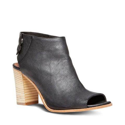 SLATER BLACK LEATHER - Steve Madden