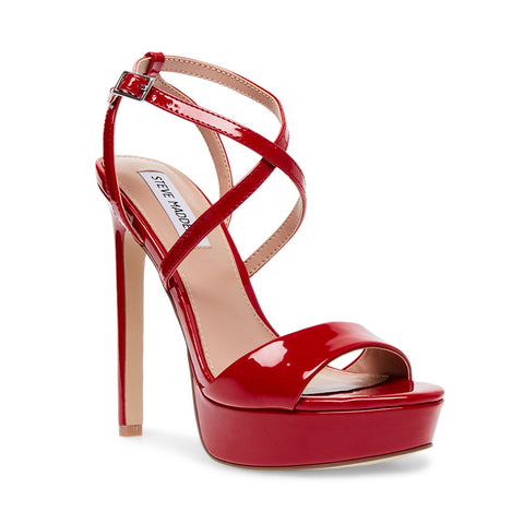 STUNNING RED PATENT