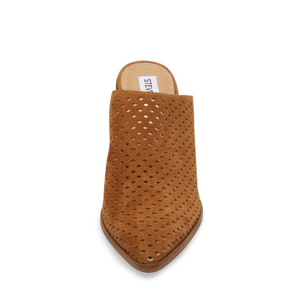 SULLY COGNAC SUEDE - Steve Madden
