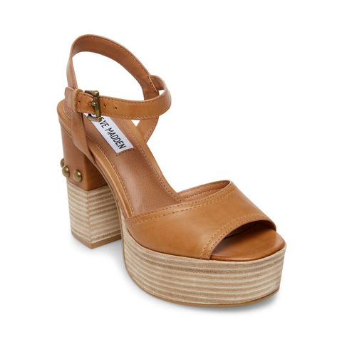 TAME COGNAC LEATHER - Steve Madden