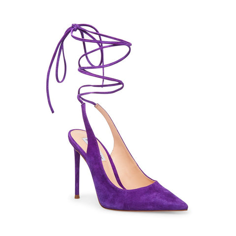 VIENNA PURPLE SUEDE