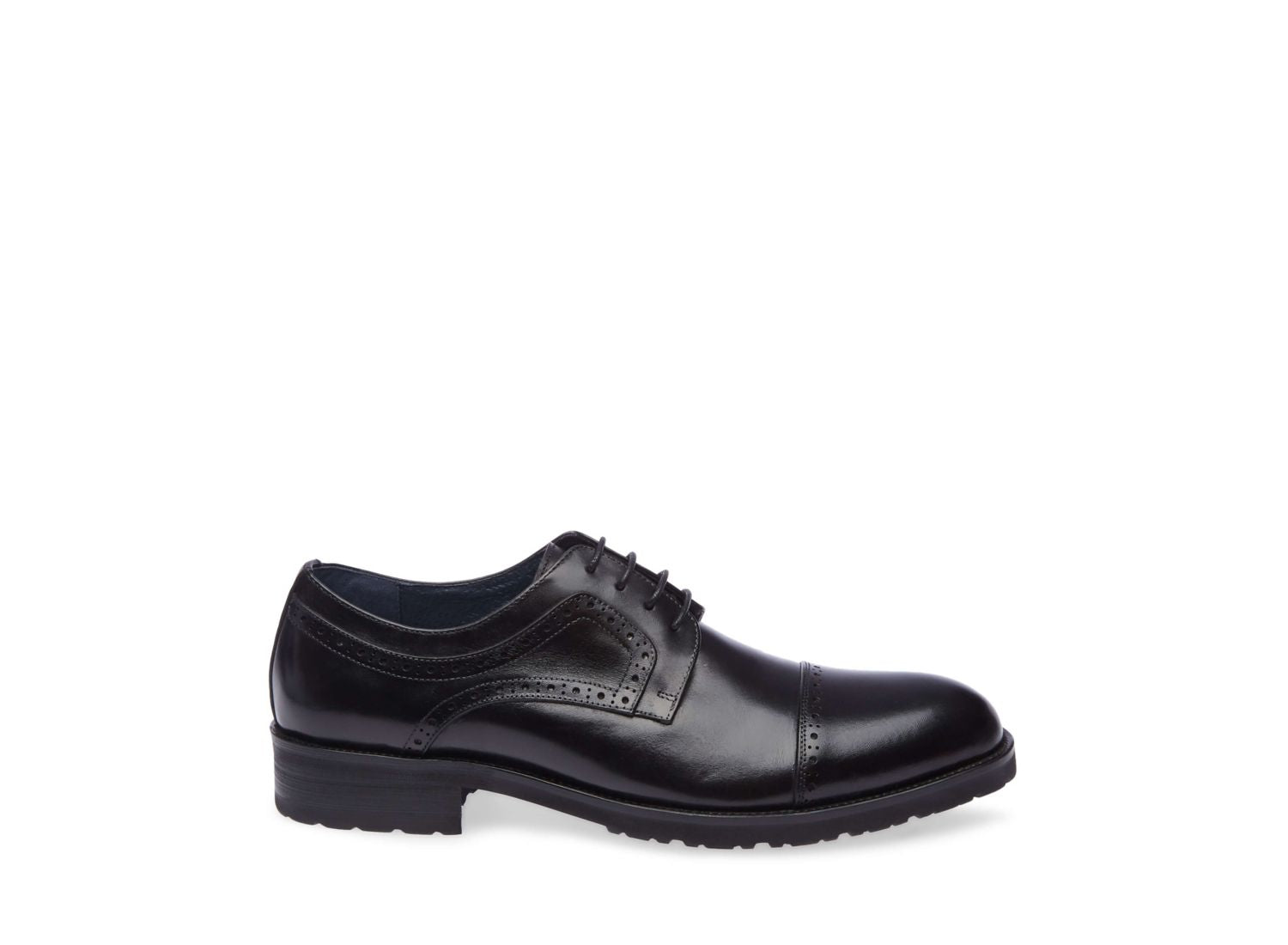 WEBBER BLACK LEATHER - Steve Madden