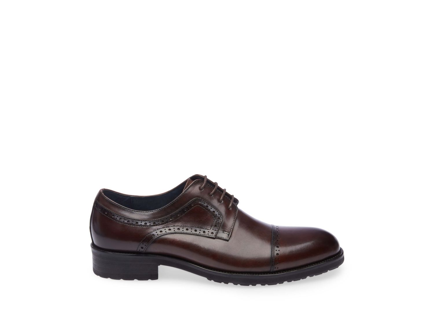 WEBBER BROWN LEATHER - Steve Madden