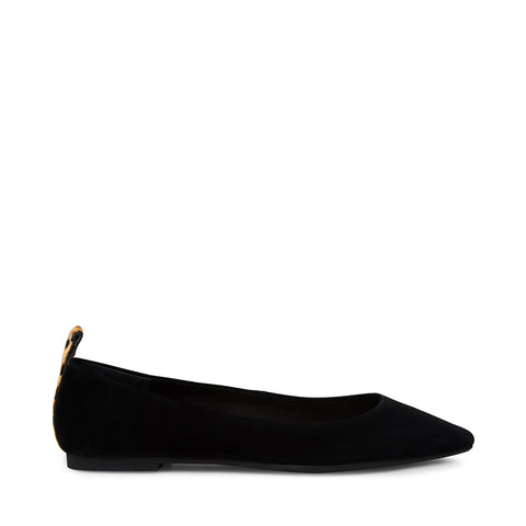 ADLEY BLACK SUEDE