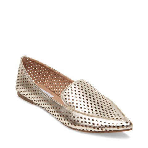FEATHER-P GOLD - Steve Madden