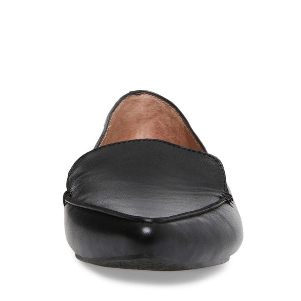 5983a0dbfd8 FEATHER BLACK LEATHER – Steve Madden