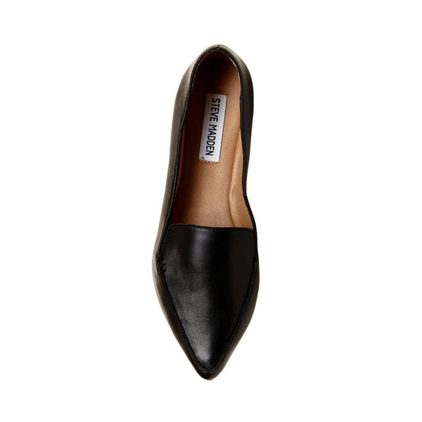 82ddca132fa FEATHER BLACK LEATHER – Steve Madden