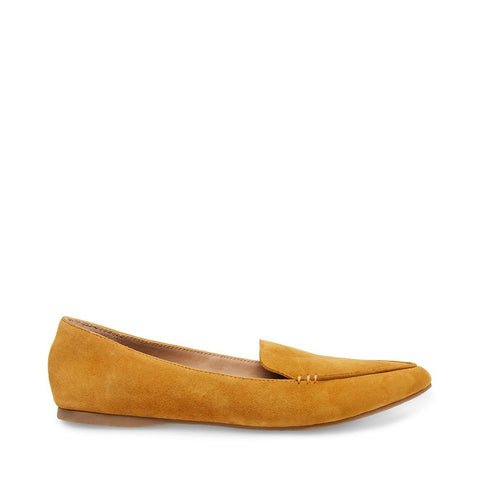 FEATHER MUSTARD SUEDE
