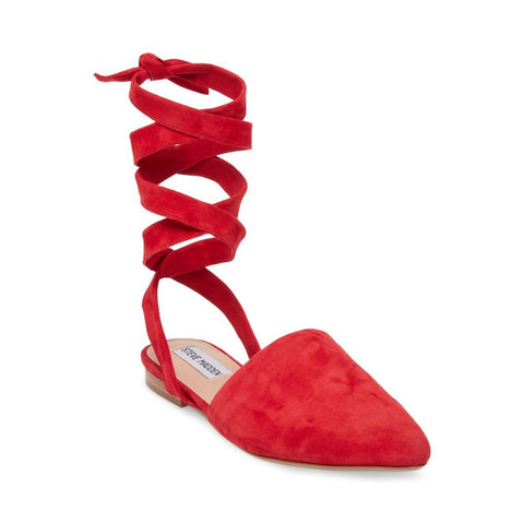 TALIAH RED SUEDE - Steve Madden