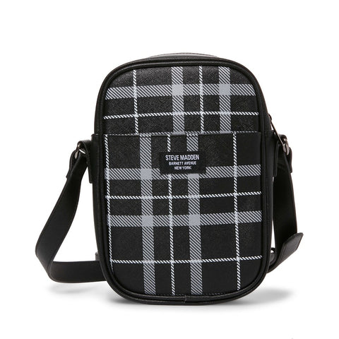 MM-867 BLACK PLAID