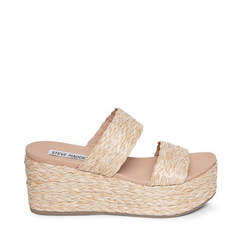 JOLTED NATURAL RAFFIA